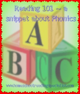 Reading 101 Phonics